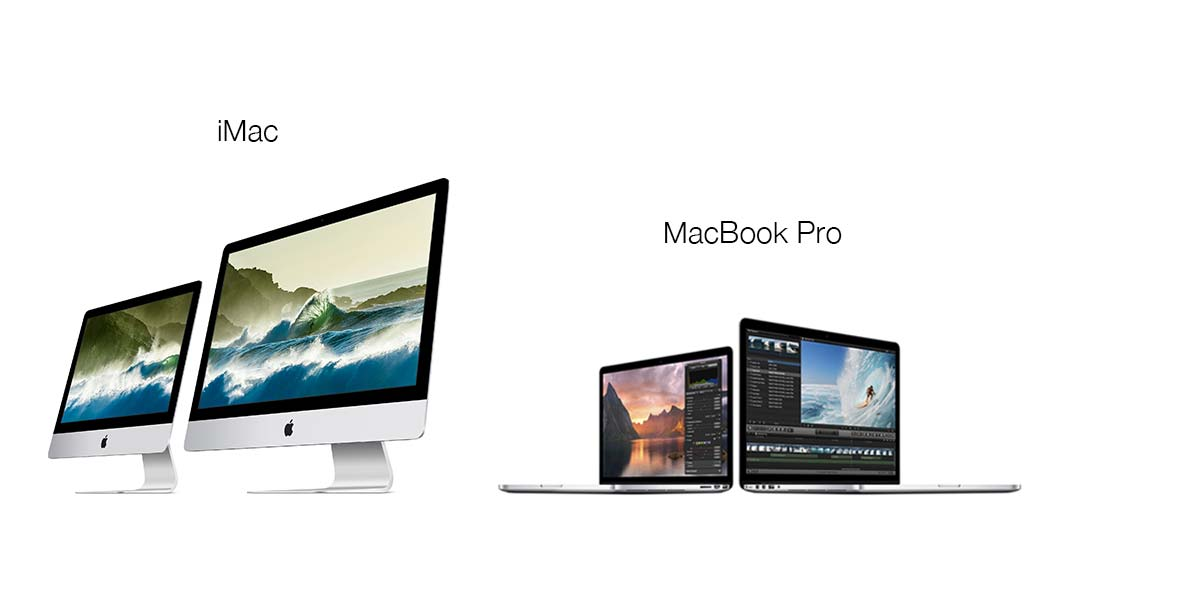 apple imac and macbook pro with retina displays
